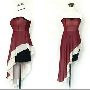 Host Pick! 💎Asymmetrical strapless dress